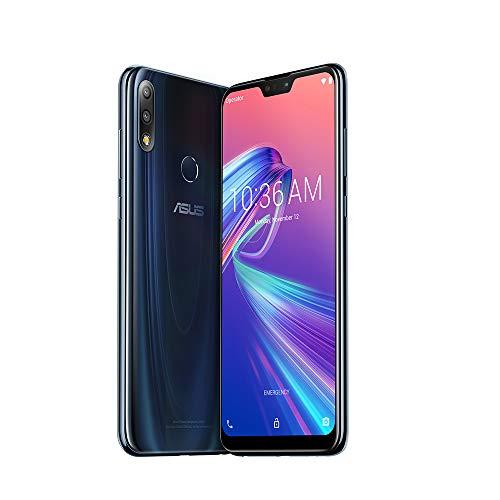 ASUS ZenFone Max Pro (M2) (ZB631KL) 4GB / 64GB 6.3-inches LTE Dual SIM Factory Unlocked - Global Version No Warranty (Aurora Blue)