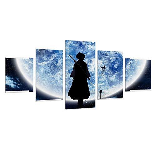 DIDIWEI Aesthetic Wallpaper Laptop Anime Poster Pintura Decorativa Lienzo Arte Pared Sala de estar Poster Dormitorio Pintura Pintura 50W X 26H