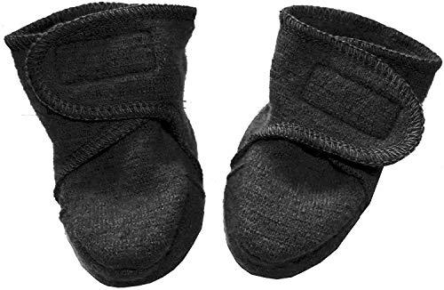 Disana Walk-Schuhe aus 100% Merino-Schurwolle (01 (4-8 Mon.), anthrazit)
