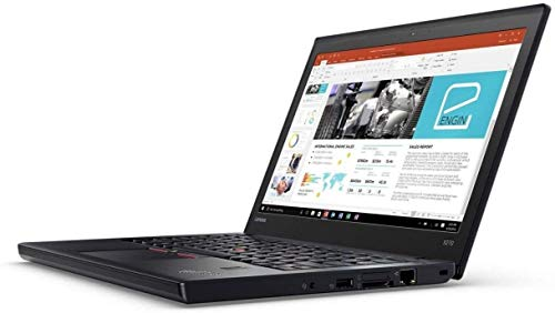 Lenovo ThinkPad X270 Core i5 i5-6300U 2.4GHz 8GB RAM 256GB SSD Windows 10 Home (Renewed)