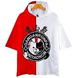 Updayday Danganronpa T-Shirt Unisexe 3D Anime T-Shirt drôle Anime Graphique vêtements, adapté pour Halloween, Anime Performance, Jeu de rôle