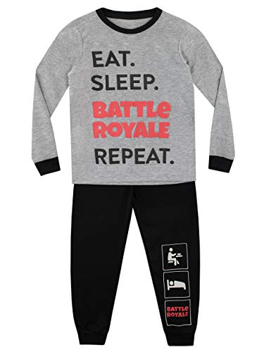 Character UK Pijama para Niños Battle Royale Multicolor 10-11 Años