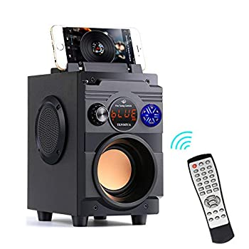 Bluetooth Speakers,Bluetooth Speaker with Loud Stereo Sound,20W Subwoofer FM Radio Bluetooth 5.0,10-Hour Playtime,100 ft Bluetooth Range Perfect Portable Wireless Speaker for iPhone Samsung and More
