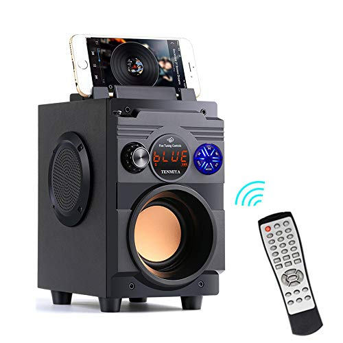 Bluetooth Speakers,Bluetooth Speaker with Loud Stereo Sound,20W Subwoofer FM Radio Bluetooth 5.0,10-Hour Playtime,100 ft Bluetooth Range. Perfect Portable Wireless Speaker for iPhone, Samsung and More