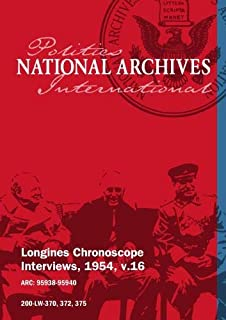 Longines Chronoscope Interviews, 1954, v.16: Arthur V. Watkins, Ferenc Nagy