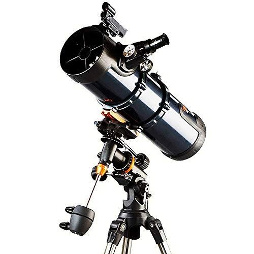 SOAR Telescopio Astronomico Portable Viaggi telescopio astronomico 130 millimetri Telescopio Rifrattore con regolabile Treppiede & Finder Ambito perfetto for i bambini Teens Regalo perfetto