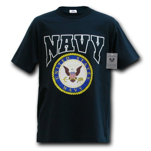 Rapiddominance Classic Military Tee, Navy, X-Large