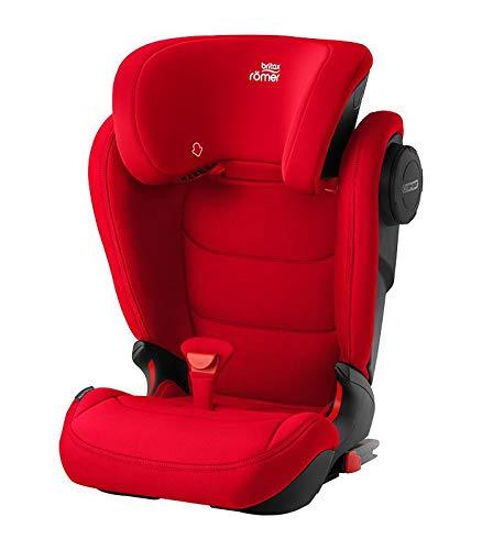 Romer Kidfix III M Fire Red Silla de coche, color rojo