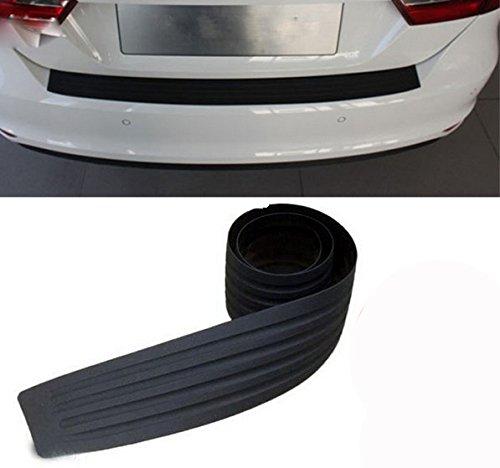 Gzq, striscia protettiva antigraffio di gomma per il paraurti auto, si adatta alla maggior parte dei veicoli