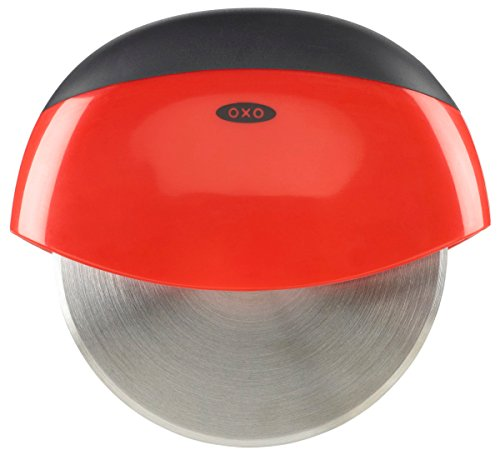 OXO Good Grips Easy to Clean Pizza Wheel and Cutter,Red/Black,1EA