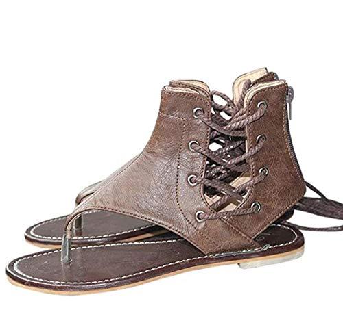 LCCYJ Sandalias De PU De Mujer Ortopedia Toe Ortesis Confort Plataformas Cuñas Zapatos De Playa Casual De Mujer Big Toe Zapatillas Correctivas