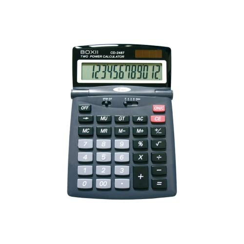 Calculadora CD-2487 12 BIG Digits de mesa