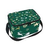 Colorful solare sistema lunch box borsa termica grande borsa termica per bambini donne 10x7x6 in Multi6