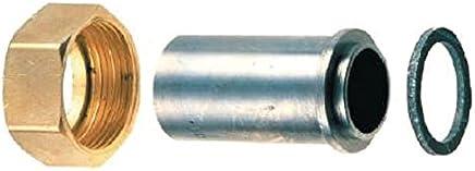 avec patte de fixation m/âle // m/âle banides 22917015 diam/ètre 20 x 27 mm robinet gaz mop 0.5