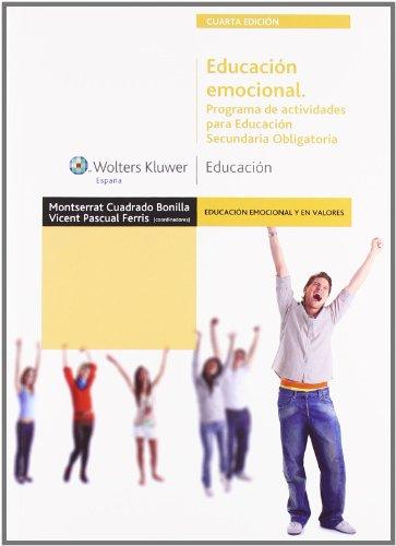 Educación emocional. Programa de actividades para Educación Secundaria Obligatoria (Educación emocional y...