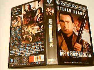 Auf brennendem Eis VHS