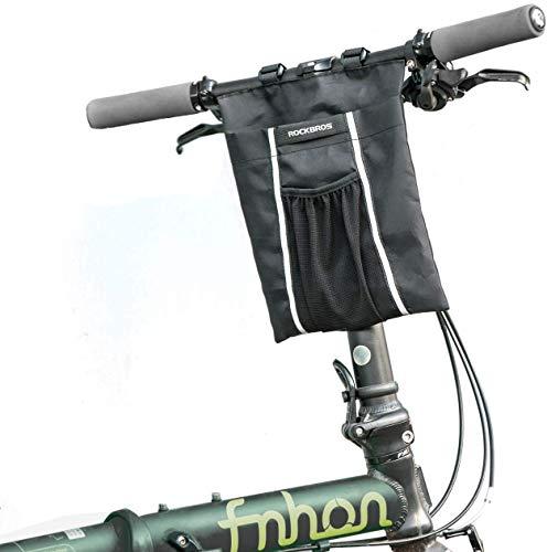 ROCKBROS Scooter Tasche Lenkertasche für Fahrrad Roller Faltrad Front Tube Bag 3L/5L