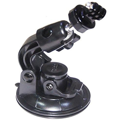 PROtastischer 9 cm Saugnapfhalter, kompatibel mit GoPro Hero SJCAM-Kameras und anderen Kompakt- / Actionkameras