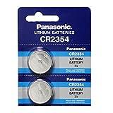 Pilas de Boton Panasonic bateria Original Litio CR2354 3V en Blister 2X Unidades