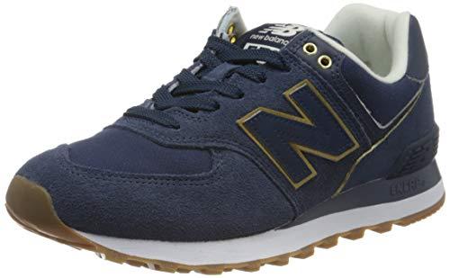 New Balance Damen 574v2 Sneaker, Blau (Navy Soc), 37 EU