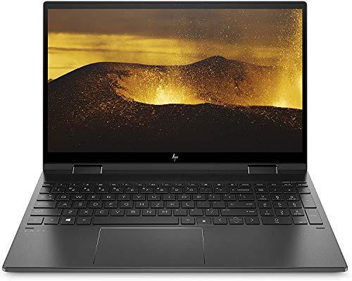 HP ENVY x360 15-ee0000sf/15-ee0004nf PC Portable Convertible et Tactile 15,6' FHD IPS Aluminium Noir (AMD Ryzen 5, RAM 16 Go, SSD 512 Go, AZERTY, Windows 10)