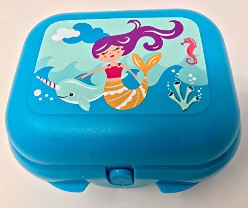 Tupperware Caja para el almuerzo de To Go MiniTwin, color turquesa, tamaño 1