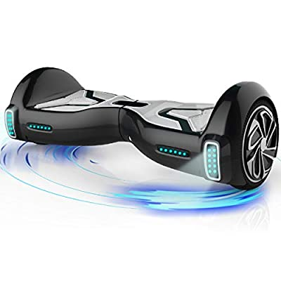 "TOMOLOO Hoverboard for Kids and Adult, Hover Board Self Balancing Scooter 6.5"" Two-Wheel Self Balancing App Controlled Electric Self Balancing Scooter UL2272 Certified"