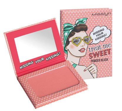 Misslyn Treat Me Sweet Powder Blush Nr.25 MISSING YOUR KISSING!, 6 g
