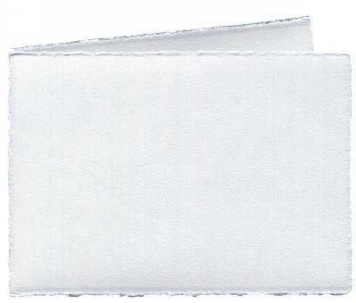 Artoz Rondo Echt bussen kaarten A6 (296 x 105mm), 240g, dubbel, wit, verpakt voor 50 stuks - Prijs voor 50 stuks