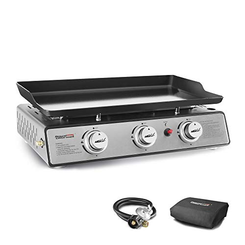 Royal Gourmet PD1301S Portable 24-Inch 3-Burner Table Top Gas Grill