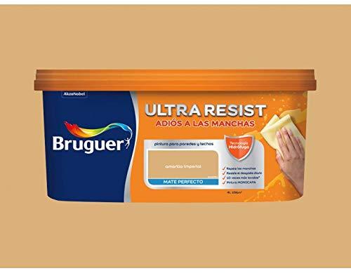 Pintura interior Bruguer Ultra Resist Amarillo imperial 4 Lt