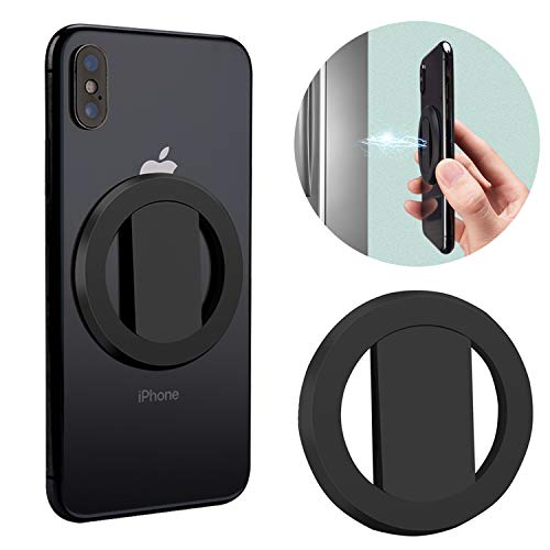 Cell Phone Ring Holder Magnetic Finger Ring Holder Ultra Thin 270 Degree Rotating Grip Anti Drop Phone Ring Stand Compatible for Most of Smartphones Tablet and Phone Case