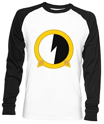 Protoshirtexe Unisex Herren Frau Baseball T-Shirt Weiß Unisex Baseball T-Shirt