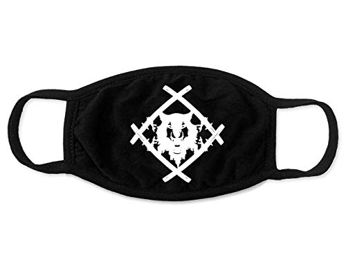 Xavier Wulf Merch Logo Face Mask Accesorios Merch for Men Women Youth Breathable Soft Fabric Black