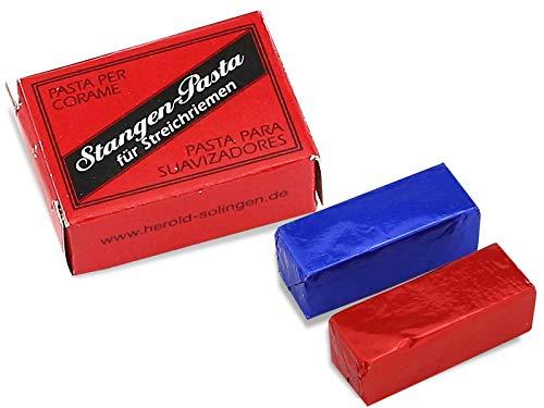 Rasiermesser Doppel-Schleifpaste Leder-Pflegepaste 2 Stk aus Solingen