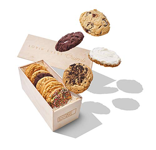 Cookie Society Holiday Dozen Gift Crate