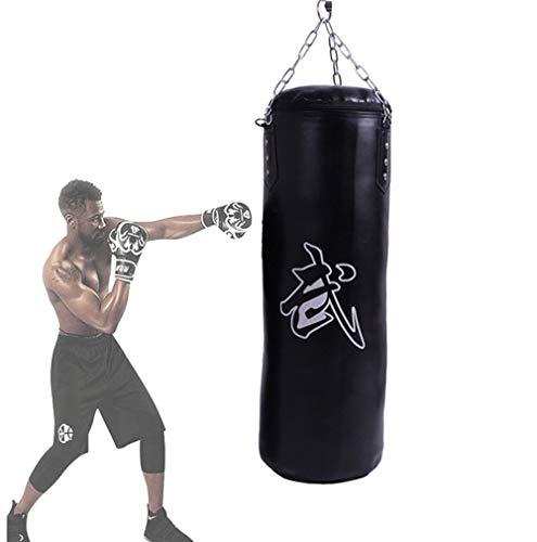 GROOFOO Saco de Boxeo Ni/ños Tarea Pesada Oxford Boxing Bag para Entrenamiento de Boxeo para Ni/ños Bolsa sin llenar con Cadena Montaje para MMA Muay Thai Kick Boxing