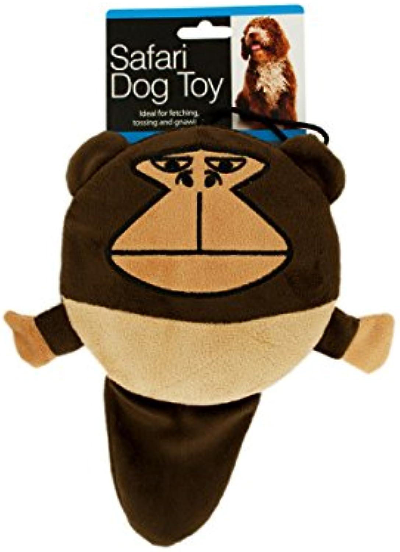 Bulk Buys Safari Dog Squeak Toy  Pack of 8
