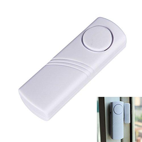 frigo allarme allarme senza fili, funzionamento a batteria, 100dB, sistema di allarme casa sicurezza personale di sicurezza extra forte sensore magnetico antifurto antifurto Intruder Easy Install