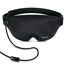 Graphene Heated Eye Mask for Dry Eyes, Far Infrared Warming Sleep Mask & Washable Electric heated Eye Compress Pad for Pink Eye, Tired Eyes and Dark Circles