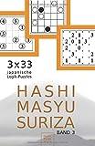 Hashi Masyu Suriza Band 3: 3 x 33 japanische Logik-Puzzles für unterwegs und zu Hause (Rätsel im Taschenbuch-Format, Band 3)