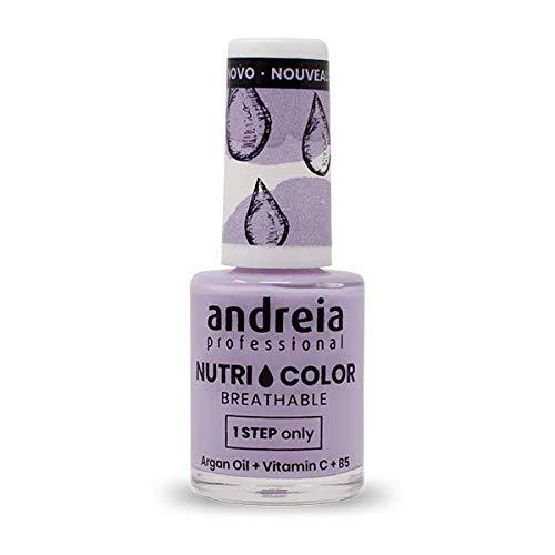 Andreia Professional NutriColor - Atmungsaktiver Veganer Nagellack NC18 Lila - 10.5ml