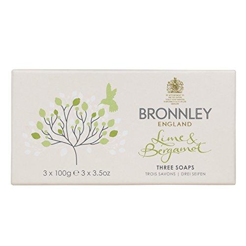 Bronnley Zitrus-, Limetten- und Bergamotte-Seife