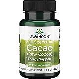 Swanson Full Spectrum Cacao (Raw Cocoa) 400 Milligrams 60 Capsules