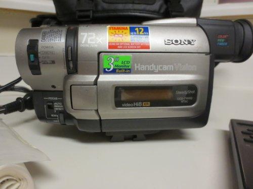 hi8 camcorders Sony Handycam Ccd-trv93 Hi8 Video Camera Camcorder