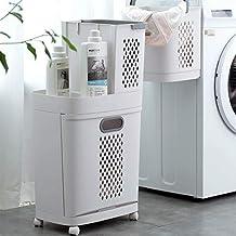 Detachable Laundry Storage Rack Organiser With Wheel