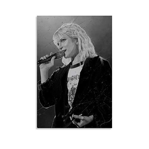 QWSDE Paramore Hayley Williams Grammy Awards Rock Star Poster, 20 Poster, dekoratives Gemälde, Leinwand, Wandkunst, Wohnzimmer, Poster, Schlafzimmer, Malerei, 30 x 45 cm