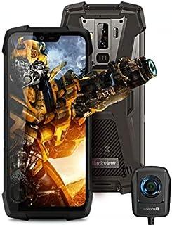 Blackview BV9700 Pro(Cámara de visión nocturna) movil antigolpes todoterreno - IP68 smartphone resistente agua y golpes Helio P70 6GB + 128GB calidad del aire y monitor de frecuencia cardiac GPS NFC