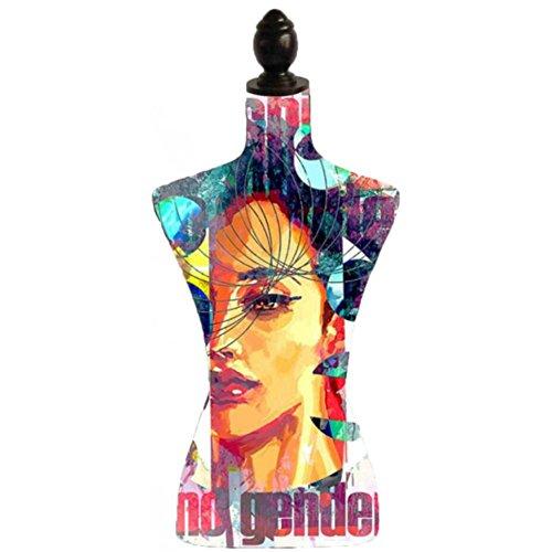 LaVidaEnLED Maniquí Mujer Estampado Busto con pie Frida