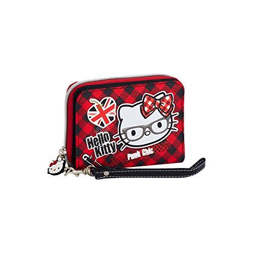 Hello Kitty- Billetero Pequeño, Color morado, 1 (Karactermania 41600)